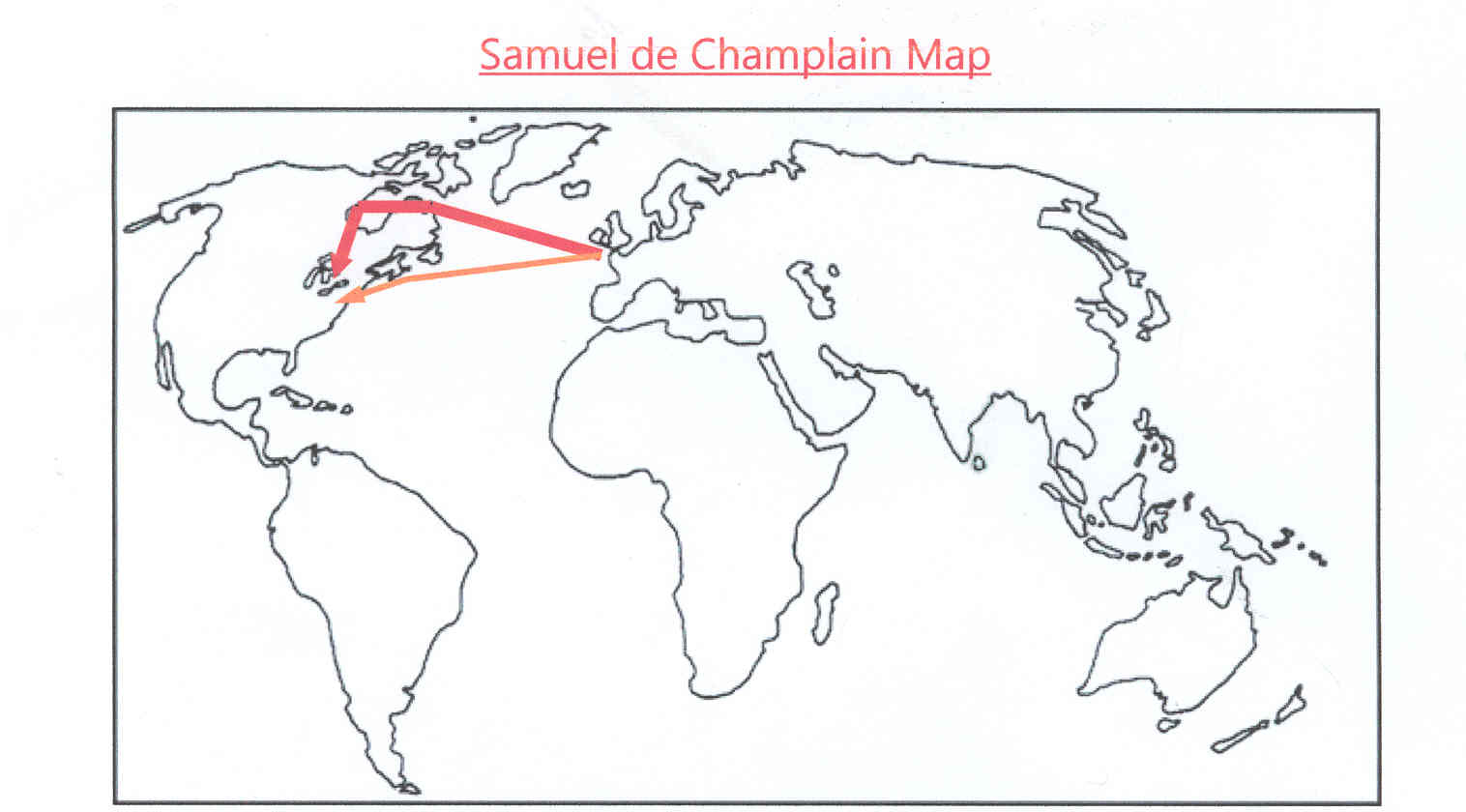 a paper on life and works of samuel de champlain This site has a biography and picture of french explorer samuel de champlain : samuel de champlain this site: discovery of america champlain, samuel de, french navigator born in brouage in early life he was in the cavalry of brittany, and was with his uncle, pilot-general of the.